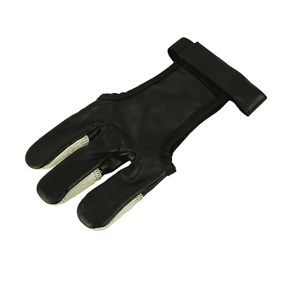 elTORO Hair Glove Black and White - Schiesshandschuh