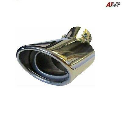 Sport Chrome Universal Exhaust Pipe Tip Trim  Stainles Steel 423 New