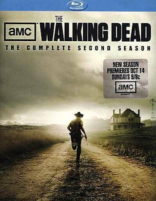 The Walking Dead: The Complete Second Season [Blu-ray] New DVD! Ships Fast!
