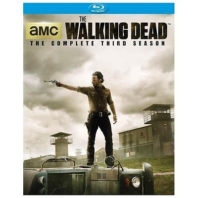 The Walking Dead: The Complete Third Season [Blu-ray] New DVD! Ships Fast!