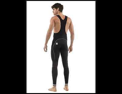 Ego Winter Cycling Bib Tights. Made in Italy by Santini