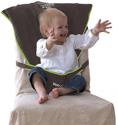Koo-di PACK-IT SEAT HARNESS GREY Baby/Child Travel Feeding Safety Accessory