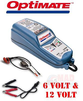 Optimate 5 Voltmatic  6V & 12V Intelligent Fully Automatic  Battery Charger