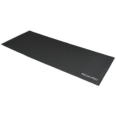 Pedalpro Exercise Bike/trainer/gym Pvc Shock Resistant Floor Cover Protector Mat
