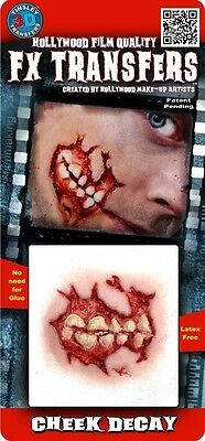 Professional Prosthetic Tinsley Transfers Makeup Appliance Hollywood FX Gory