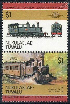 1897 VR Puffing Billy Class Na Victoria Railways Train Stamps / LOCO 100