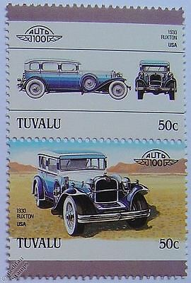 1930 RUXTON Car Stamps (Leaders of the World / Auto 100)