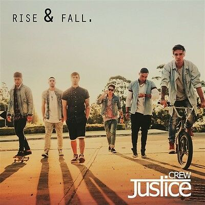 JUSTICE CREW Rise & Fall PERSONALLY SIGNED BY THE JUSTICE CREW CD SINGLE NEW