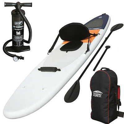 Bestway Sup High Wave Stand Up Paddle 285 Aufblasbar Board Sitz Kajak Surfboard