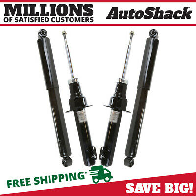 AutoShack KS163-164PR Front and Rear Shock Absorbers