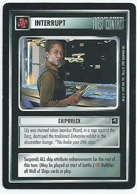 Star Trek First Contact - Card - Shipwreck (Abyi)