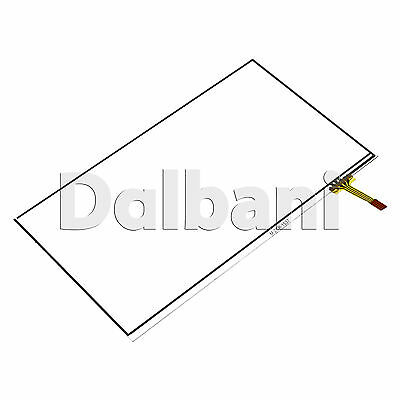 "7.5"" DIY Digitizer Resistive Touch Screen Panel 1.12mm x 98mm x 163mm 4 Pin"