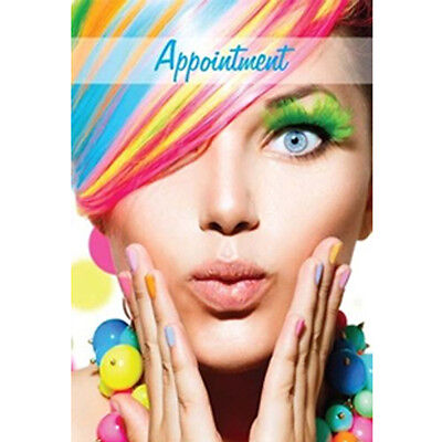 Appointment Cards Hairdresser RAINBOW Stylish  Modern Design Salons 100 Cards