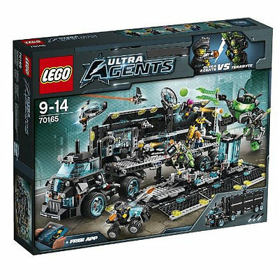 LEGO ULTRA  AGENTS 70165 QUARTIER GENERALE ULTRA AGENTS    NUOVO