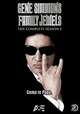 Gene Simmons Family Jewels: The Complete Season 5 [3 Discs] (DVD New)