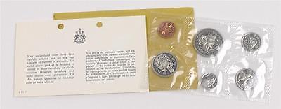 1970 CANADA Uncirculated UNC, Proof-Like 6 pce Coin Set, Nickel (lot #5507)