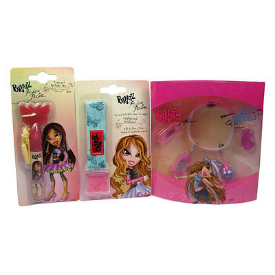 Bratz Fashion Pixiez Girls Pamper Pack Cosmetic Beauty Accessory Set 3 Piece