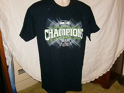 SEATTLE SEAHAWKS NIKE Jacket XL  Extremely RARE  Super Bowl 48 NEW w ... c26a79b29