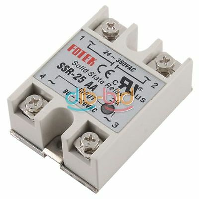 Phase Solid State Relay SSR-25AA Durable New