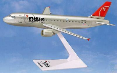 NORTHWEST AIRLINES, AIRBUS A320-200  desk model  2003 - 2009