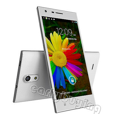 """Cubot S308 5"""" OGS IPS HD Android 4.2 Quad Core 2Sim 3G GSM/WCDMA GPS Smartphone"""