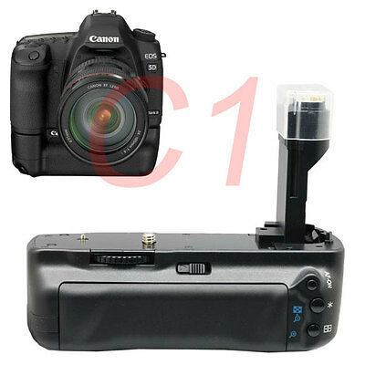 Pro Battery Grip for Canon EOS 5D Mark II 5DII DSLR Camera replacement BG-E6
