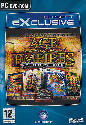 Age of Empires Collector's Edition I & II + Expansions Exclusive (DVD-ROM) PC -