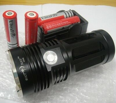 Rechargeable SKYRAY 6000 Lumens 3x CREE XM-L T6 LED Flashlight Torch 18650 Lamp