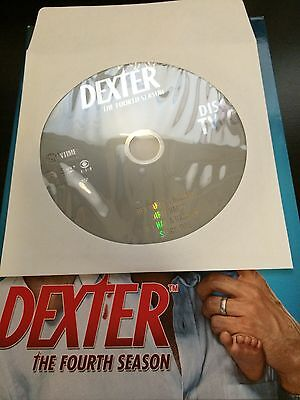 Dexter - Season 4, Disc 2 REPLACEMENT DISC (not full season)