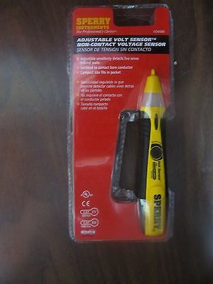 Sperry Instruments #VD6505 Adjustable Non Contact Voltage Detector  NEW