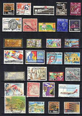 MALTA Old STAMP COLLECTION Ref:F249