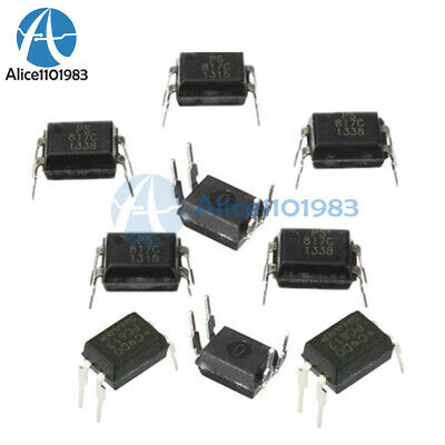 20Pcs PC817 EL817C LTV817 PC817-1 DIP-4 OPTOCOUPLER SHARP Best