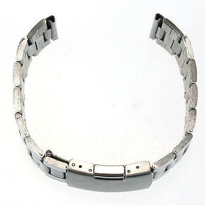 Stainless Steel Watch Band Strap Straight End Bracelet Links 18mm/20mm/22mm