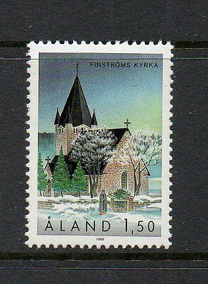 Aland 1989 St Michael's Church Finstrom SG40 unmounted mint stamp