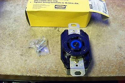 NEW Hubbell HBL2420 Twist Lock Receptacle 20AMP 3Phase 250V 3-Pole 4-Wire