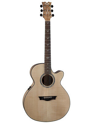 Dean Performer Ultra Flame Maple Acoustic-Electric Guitar - Gloss Natural