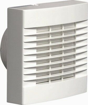 Airvent 4in/100mm Toilet and Bathroom Extractor Fan for Humidity Control 459318A