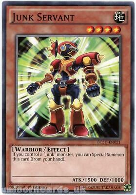 LC5D-EN021 Junk Servant 1st Edition Mint YuGiOh Card