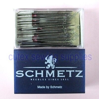 100 Pk. SCHMETZ 130/705H-E Flat-Shank Home Embroidery Sewing Machine Needles