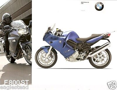 Motorcycle Brochure - BMW - F 800 ST - 2007 (DC205)