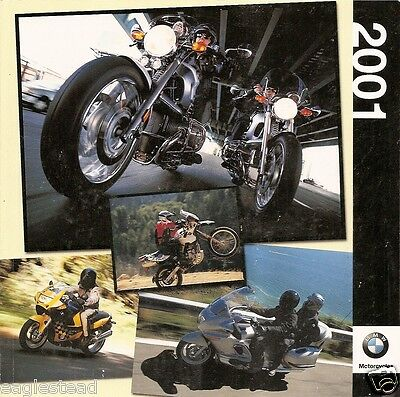 Motorcycle Brochure - BMW - Product Line Overview - 2001 (DC225)