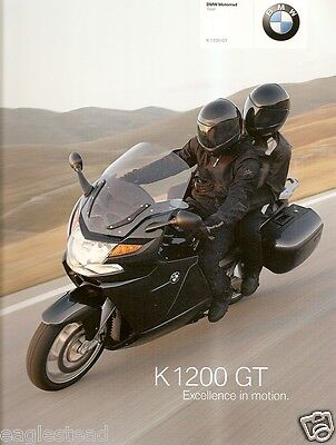 Motorcycle Brochure - BMW - K 1100 GT - 2006 (DC215)