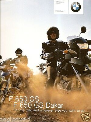 Motorcycle Brochure - BMW - F 650 GS - Dakar - 2003 (DC201)