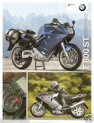 Motorcycle Brochure - BMW - F 800 ST - 2008 (DC206)