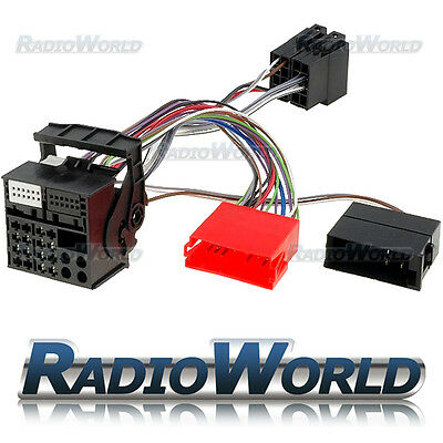 Audi A3 A4 A6 RNS-E Navigation Retro Fit Plug & Play Adaptor Wiring Harness Lead
