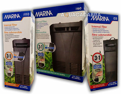 HAGEN MARINA i25 i110 i160 INTERNAL POWER FILTER AQUARIUM FISH TANK CARTRIDGE