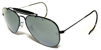 Ray Ban 3030 58 Outdoorsman Black  Personalizzato Cobra Stallone Mirror Remix