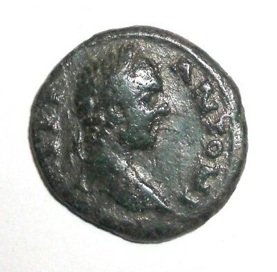 Ancient Roman Provincial, 100 - 400 AD. Bronze coin. Victory