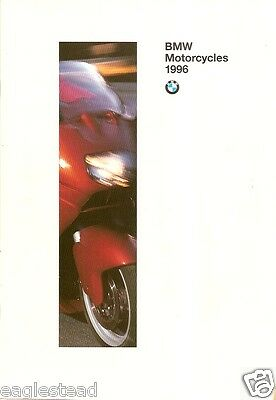 Motorcycle Brochure - BMW - Product Line Overview - 1996 (DC232)