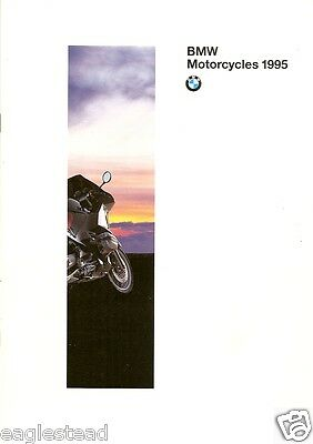 Motorcycle Brochure - BMW - Product Line Overview - 1995 (DC231)